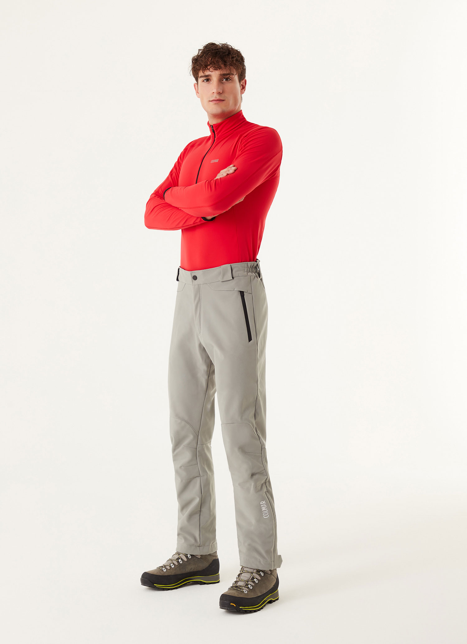 Colmar men's softshell ski pants with a 10,000 mm WPT rating