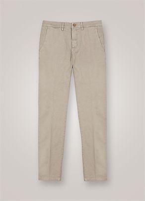 Chino-Hose aus Stretch-Baumwolle