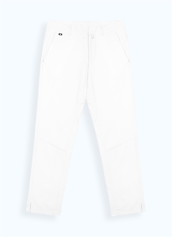 Slim trousers with tee pocket