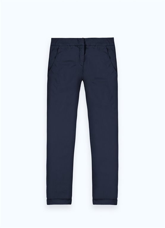 Masculine-style trousers