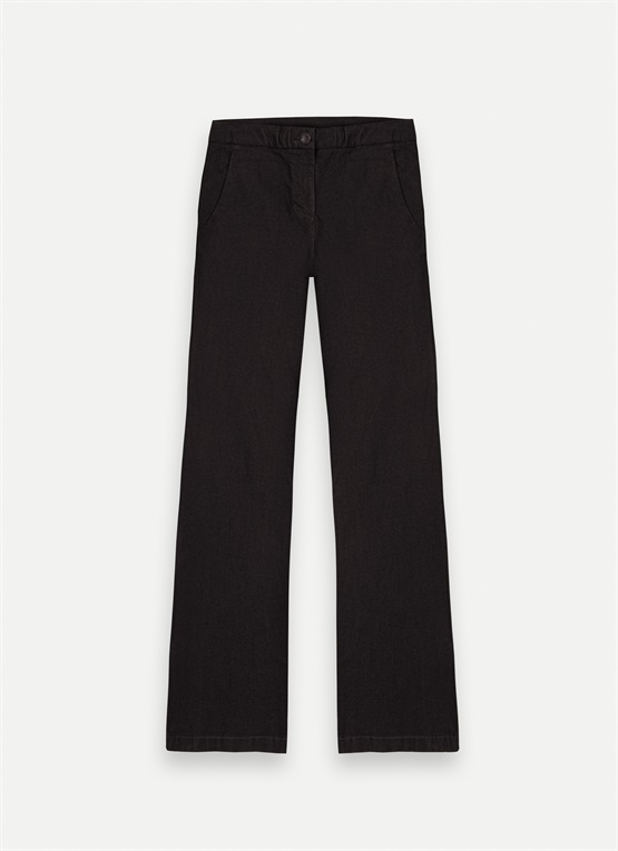 Stretch palazzo trousers
