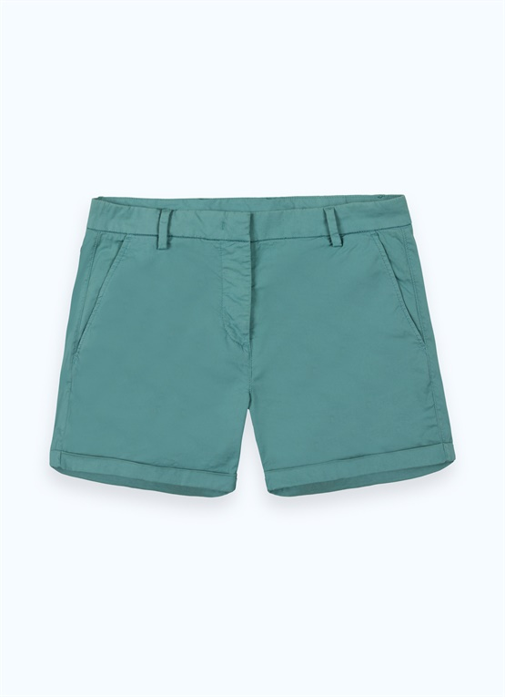 Shorts sportivi in cotone stretch