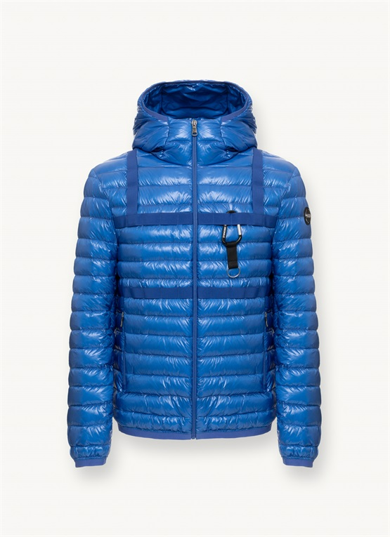 Research down jacket with hood