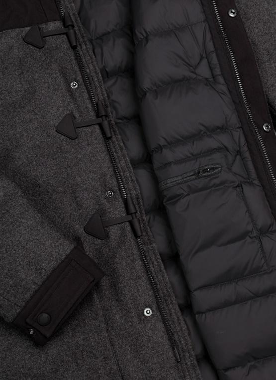 Giacca lunga da uomo Colmar Originals in panno di lana Colmar