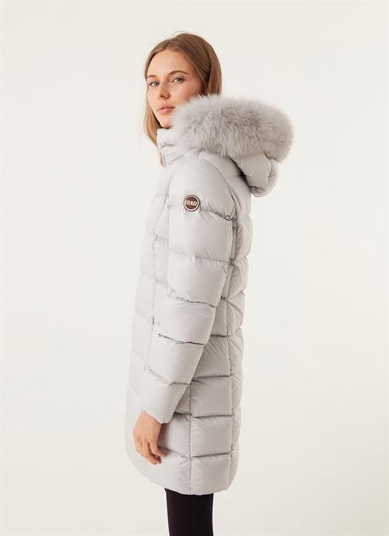 Winterdaunenjacke Colmar mit Lange Damen Kapuze Originals NOkZwX8n0P