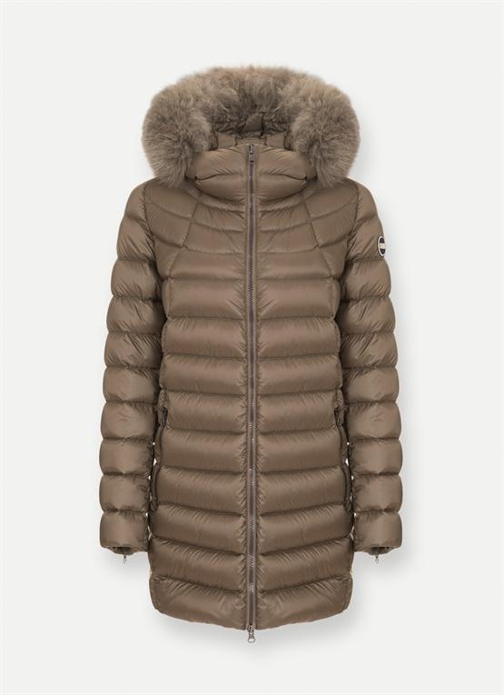 Piumino lungo invernale Colmar Originals con cappuccio in