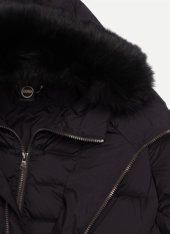 50% off official store huge inventory Colmar Originals women's long winter down jacket with a ...