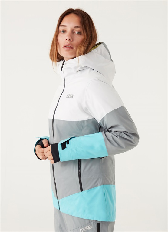 colmar giacca sci donna acqua marina