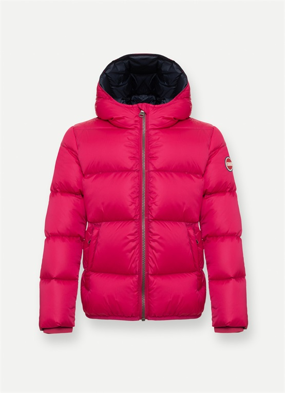 Colmar Originals girls' semi glossy winter down jacket Colmar