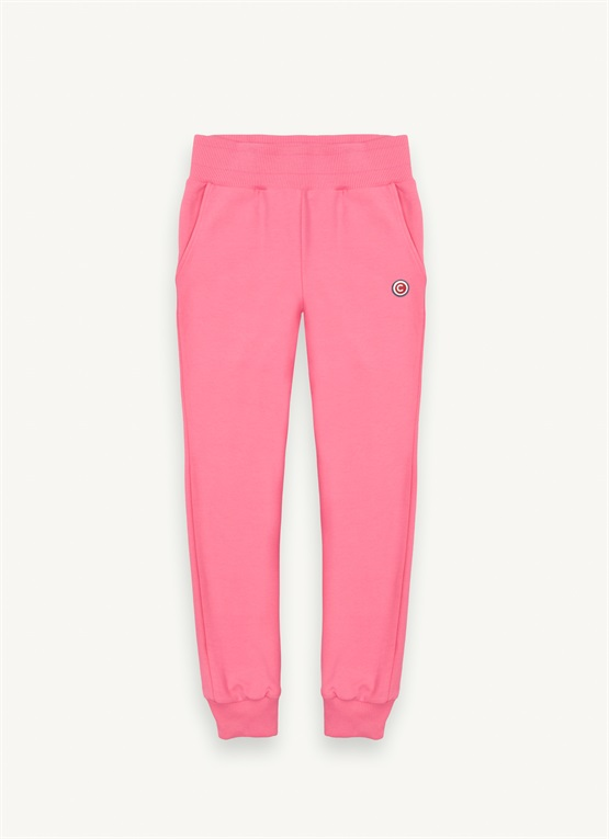 Stretch cotton sweatpants