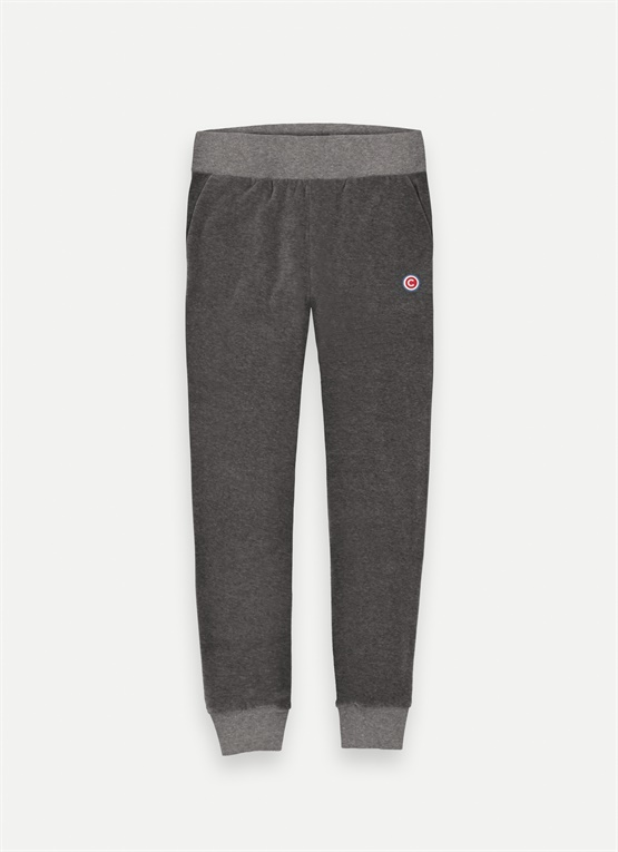 Sporty chenille sweatpants
