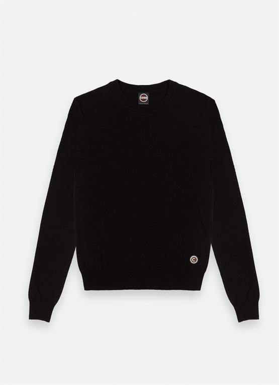 Wool and cashmere crew-neck jumper