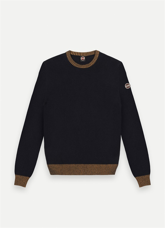 Wool and cotton jumper
