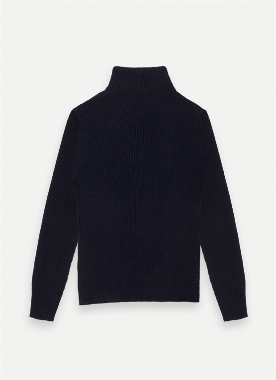 Research high-neck jumper