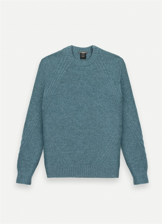 Research crew-neck jumper