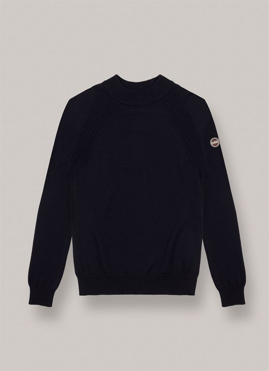 Pure virgin-wool pullover