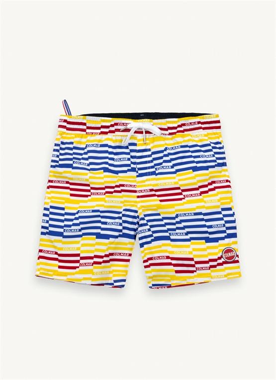 Badehose mit Allover-Print