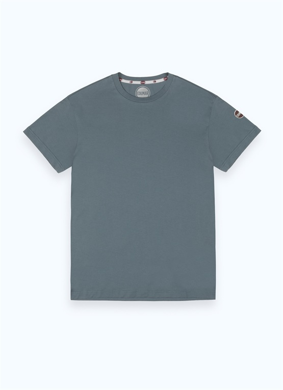 Cotton T-shirt with crew neck