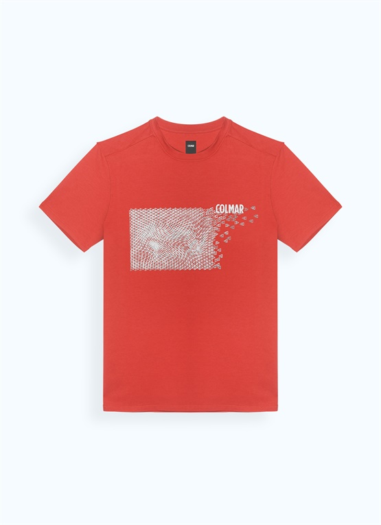 T-shirt con stampa 3D
