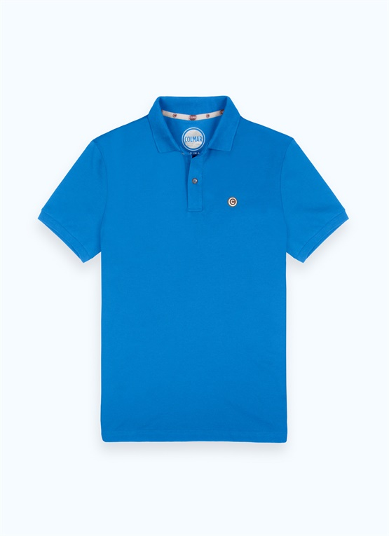 2-button pique polo shirt