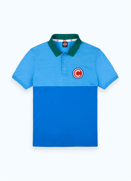 Originals by Originals colour-block polo shirt