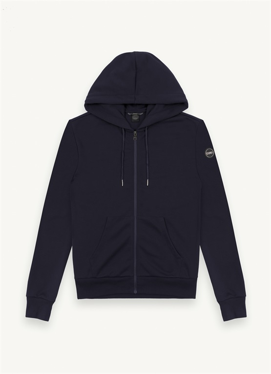 Research hoodie with hand-warmer pockets