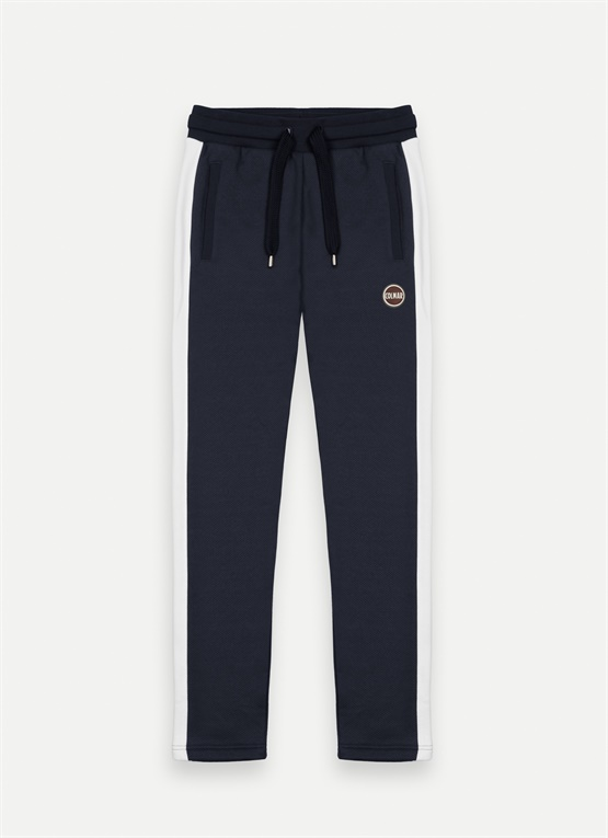 Fleece sweatpants with bands