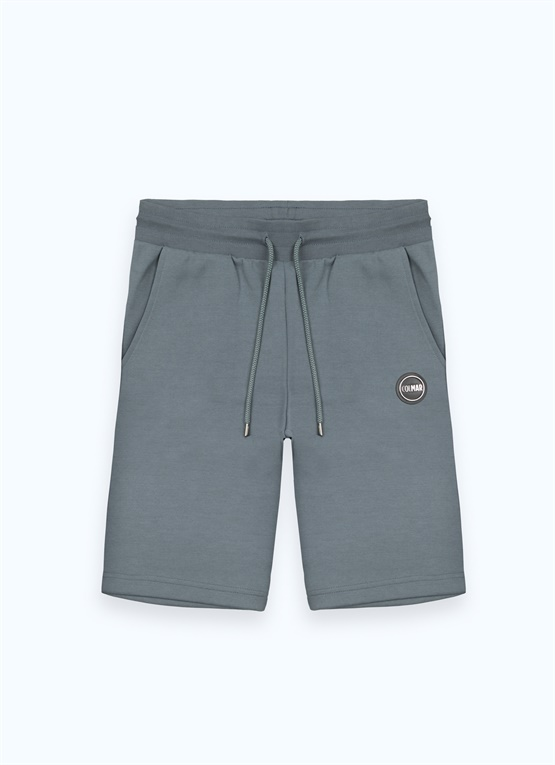 Heat-sealed Research fleece Bermuda shorts