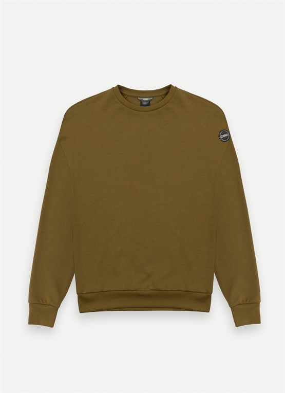 Research crew-neck sweatshirt