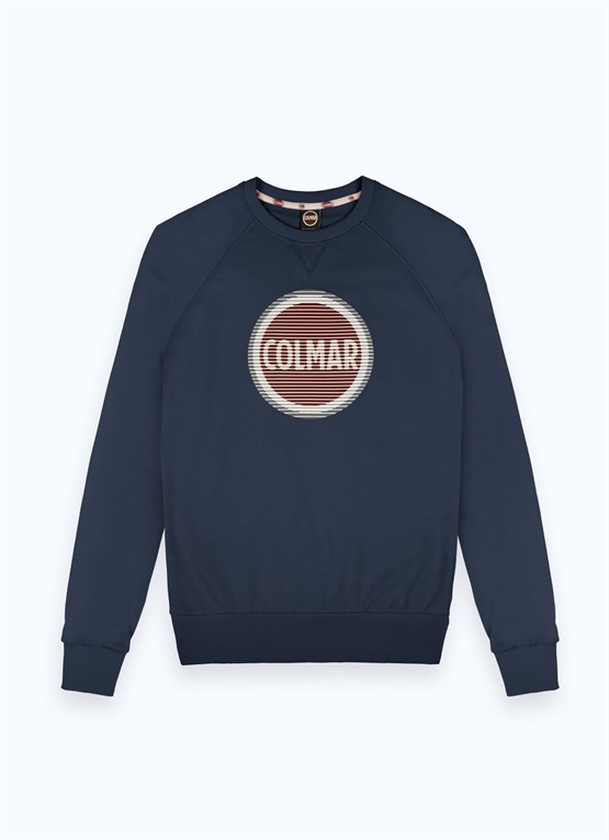 Sweatshirt with rubber print