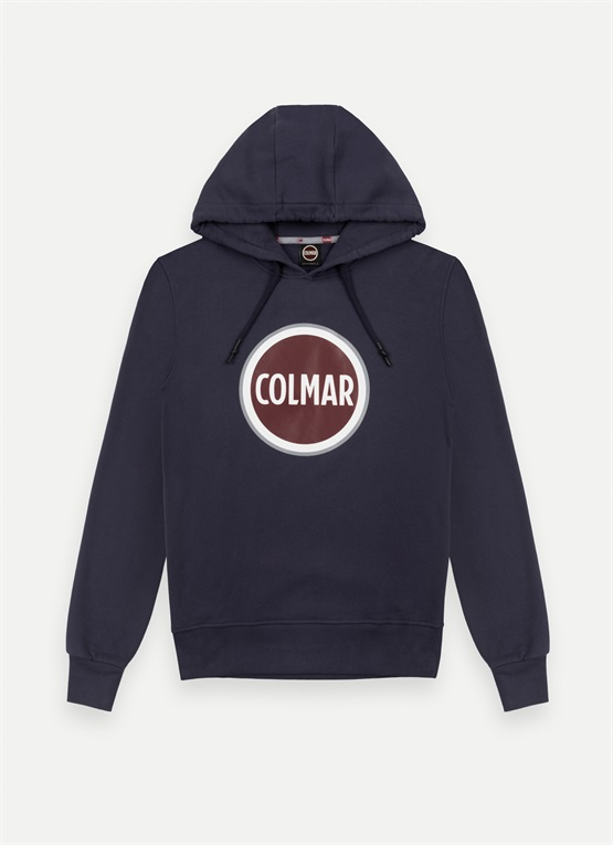Sweatshirt with a maxi logo