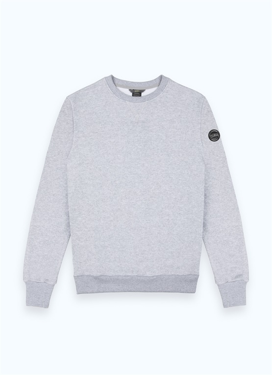 Sweat-shirt ras de cou Research en coton
