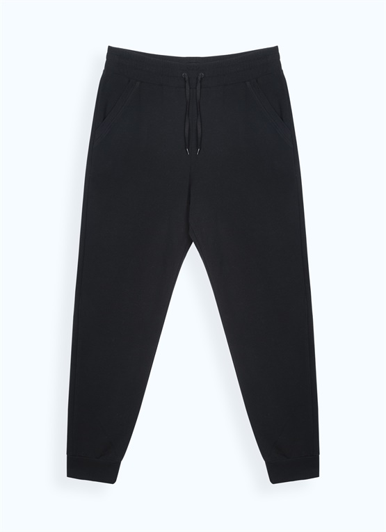 Stretchy fleece sweatpants
