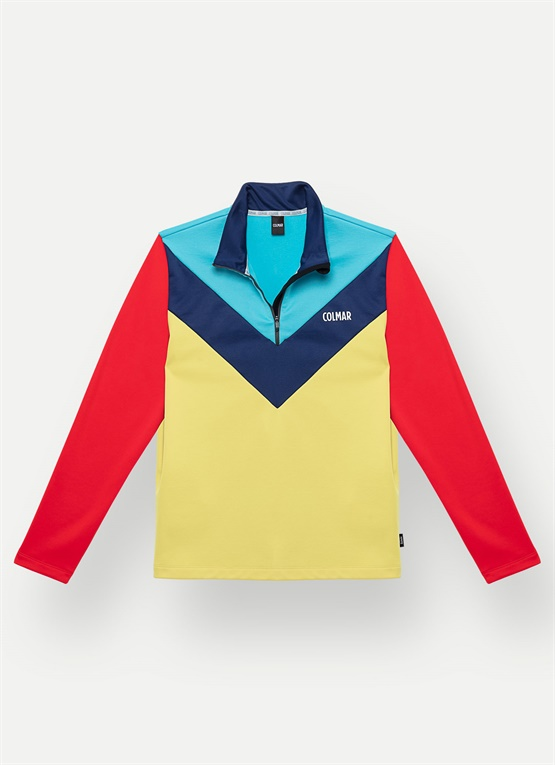 Colorblock-Sweatshirt TECHNOLOGIC