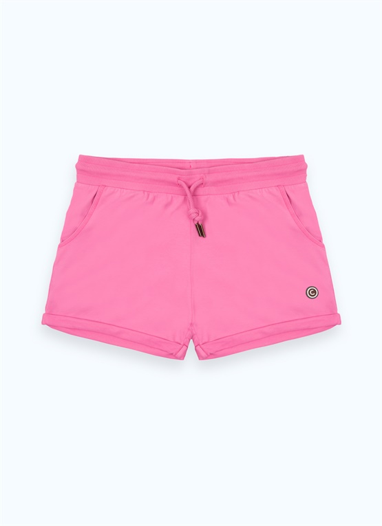 Sporty fleece shorts