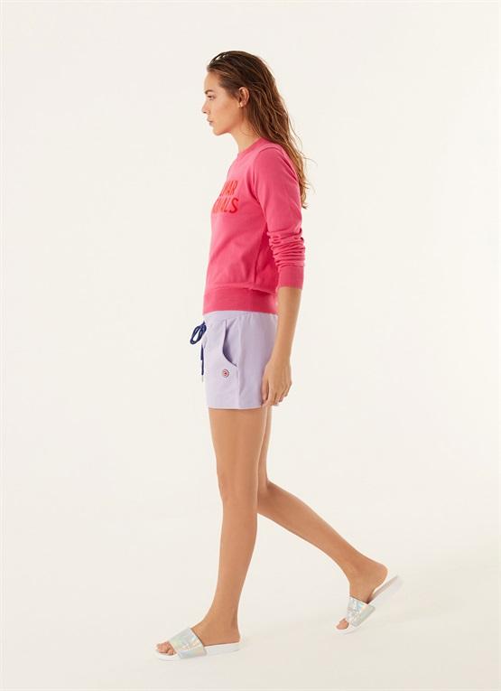 shorts slim in cotone stretch