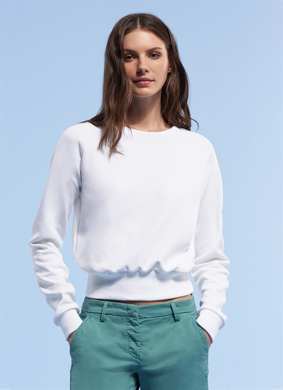 Research cropped sweatshirt