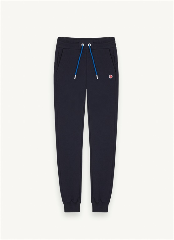 Pantalon slim en coton stretch