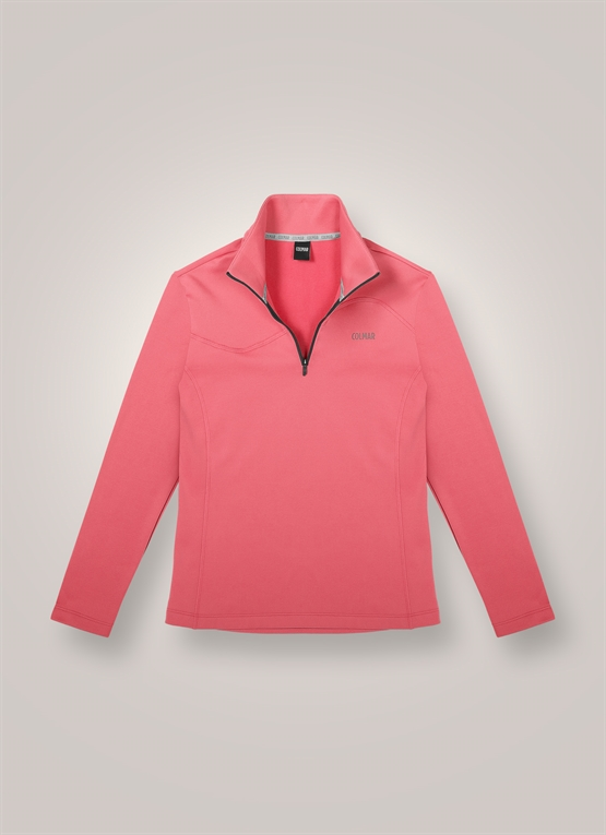 Sweat-shirt de ski en polaire stretch